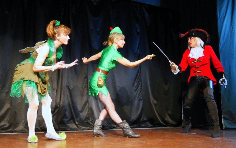 Tinkerbell, Peter Pan & Hook