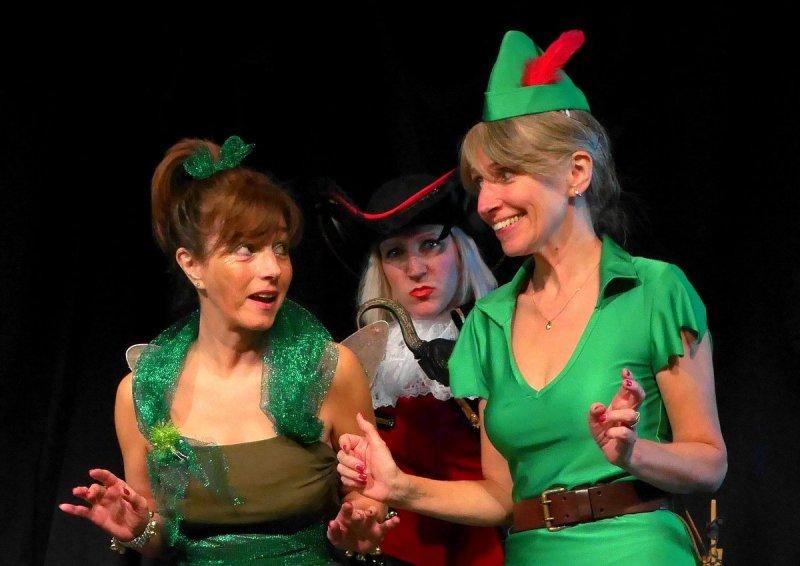 Tinkerbell, Hook & Peter Pan