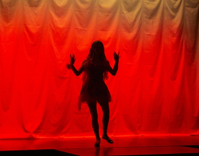 Red Shoes Dancer