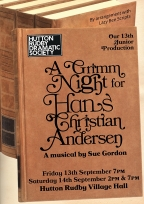 A Grimm Night for Hans Christian Andersen