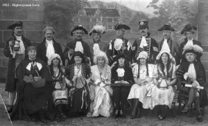 Cast of Highwayman's Love 1922
